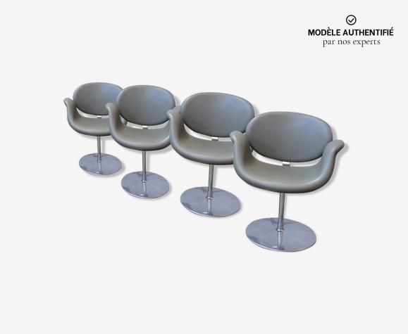 Lot de 4 fauteuils tulip de Pierre Paulin pour Artifort
