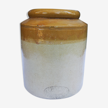 Pot à marmelade en grès anglais