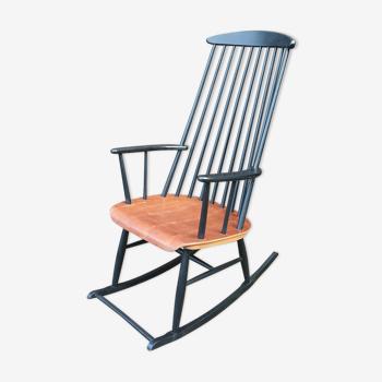 Rocking-chair scandinave vintage