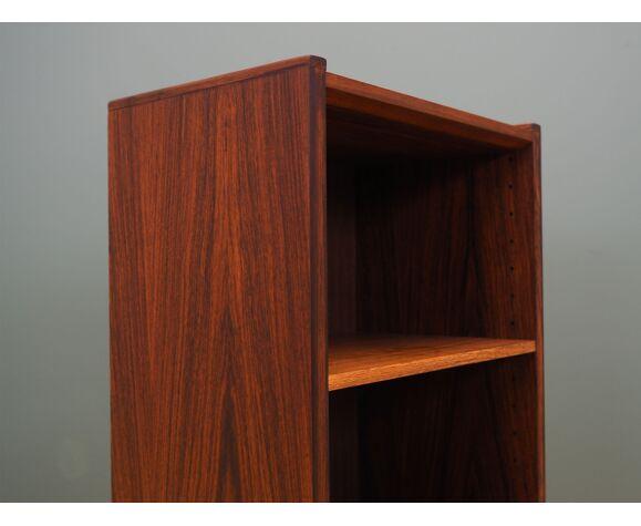 Bibliothèque en bois de rose, design danois, années 60, made in Denmark