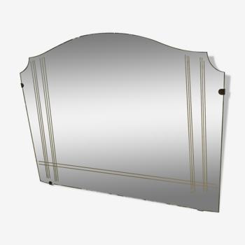 Mirror of the 1960s  - 42x60cm