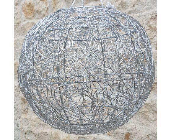Metal ball hanging
