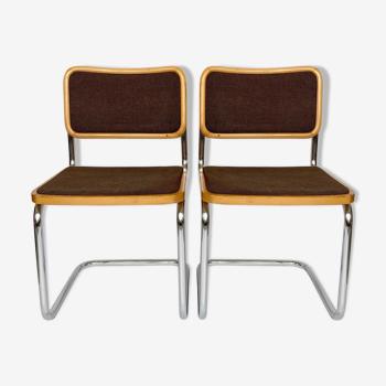 Chaises Breuer vintage des années 70