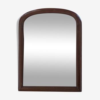 Miroir arche piqué ancien 45x34cm