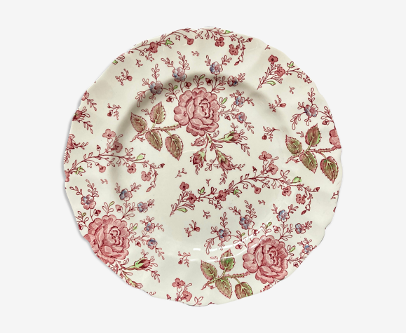Assiette rose Johnson Bros England