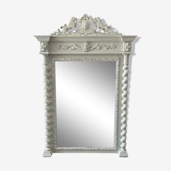 Miroir shabby chic