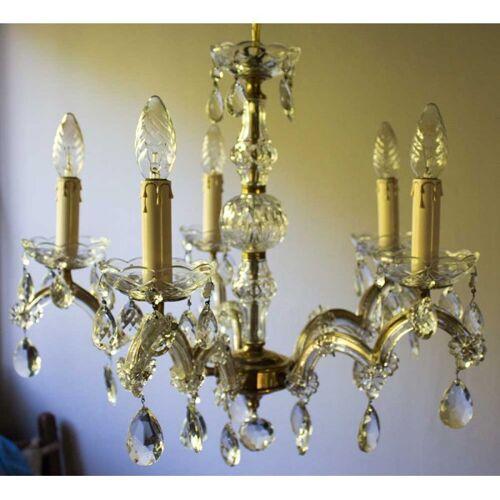 Lustre marie thérèse 5 lampes