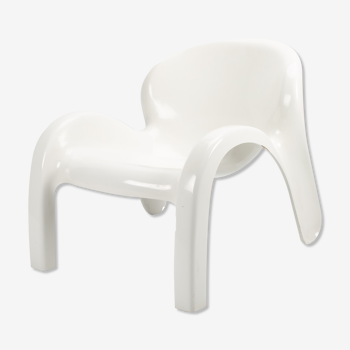 White GN2 armchair by Peter Ghyczy for Reuter's Form and Life
