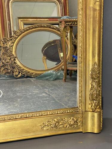 Miroir 157x117 cm ancien début XIXe