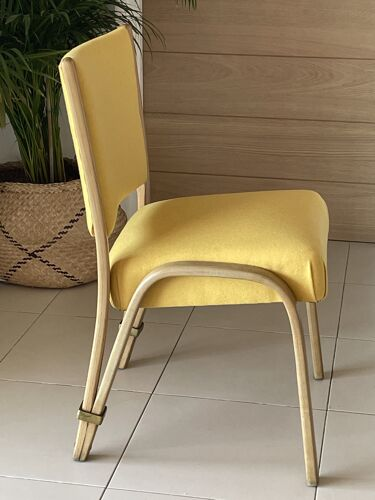 Chaise Bow Wood