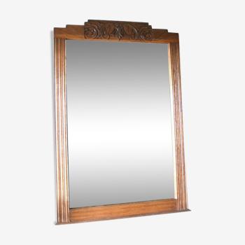 Miroir trumeau art déco
