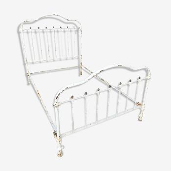 Old metal bed