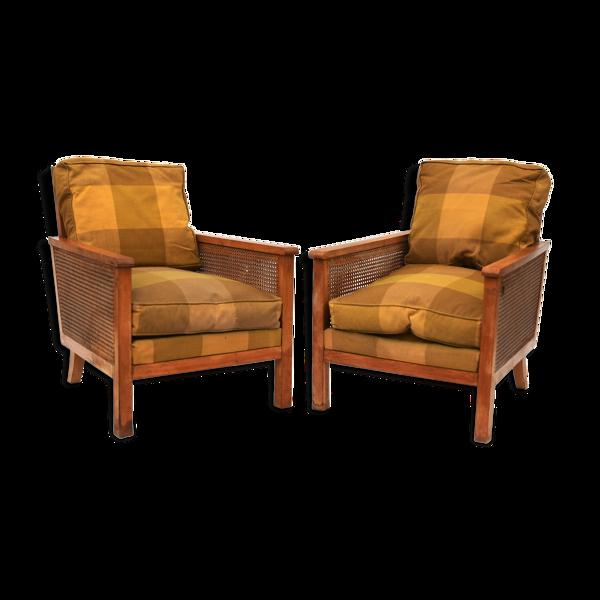 Paire de fauteuils des années 1940/50