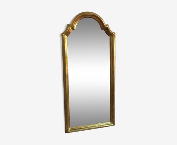 Miroir ancien bois doré