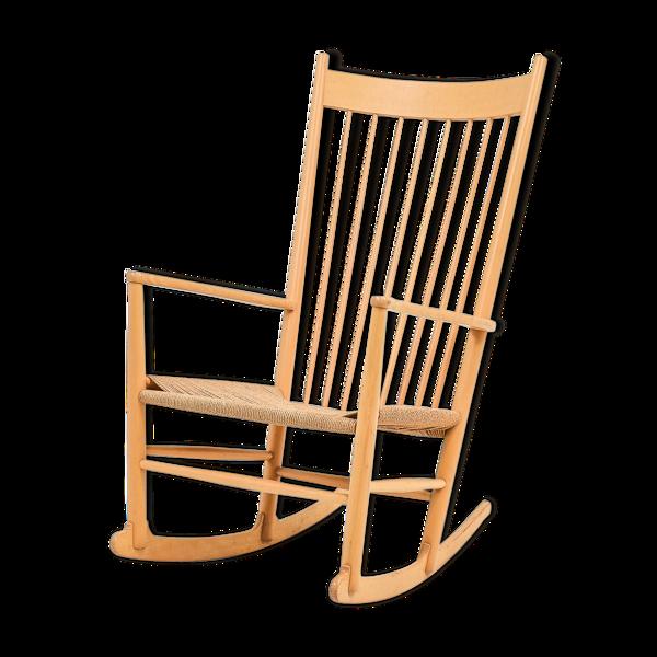 Selency Rocking-chair J16 par Hans Wegner pour Fdb Møbler