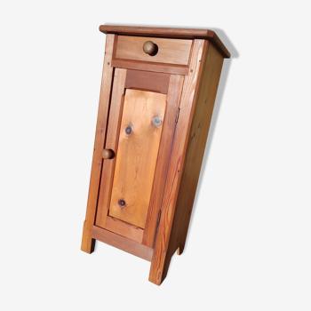 Table de chevet ancienne en bois