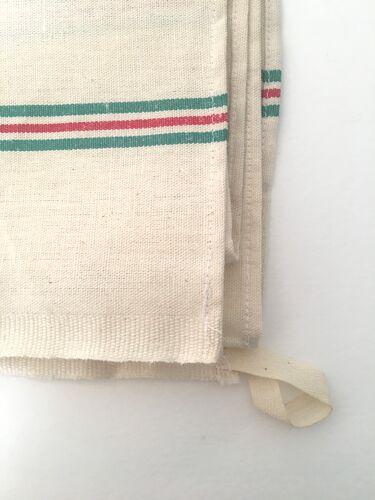 Set de torchons anciens lin et coton