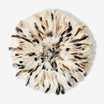 Juju hat blanc moucheté 50 cm