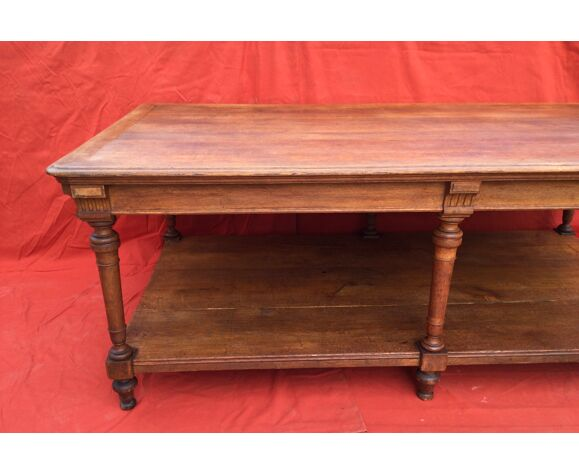 Table de drapier en chêne 19 ème
