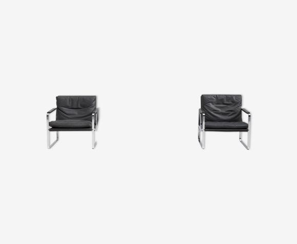 Paire de fauteuils de Preben Fabricius pour Walter Knoll
