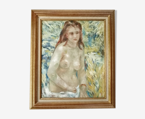"Portrait ""Jeune demoiselle"""