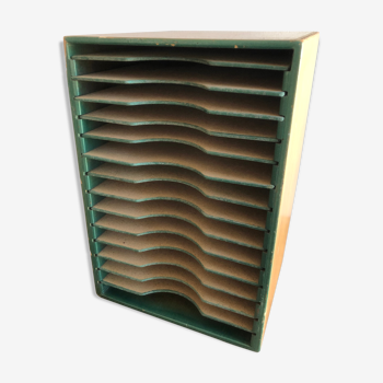 Casier de tri rangement en bois