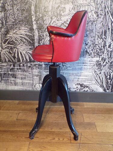 Vintage hairdresser's chair for children