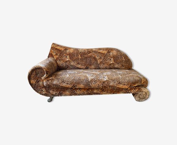 Méridienne Bretz Gaudi léopard