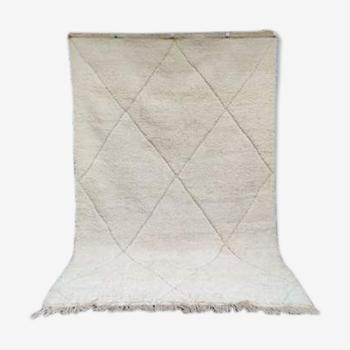 Tapis béni ouarain motifs creux 210x290 cm