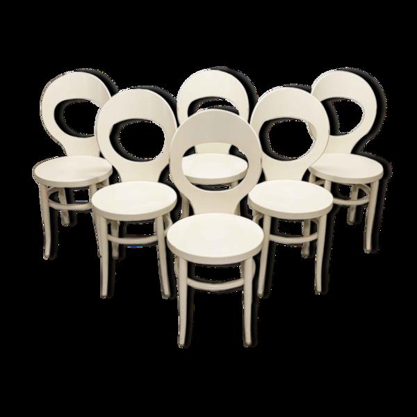 Selency Lot de 6 chaises Baumann modèle mouette 1975