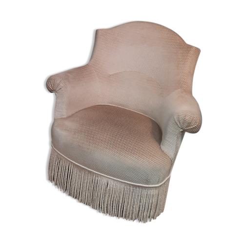 Paire de fauteuils crapaud