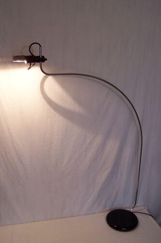 Lampadaire italien O-luce de Bruno Gecchelin Wing 627 années 70