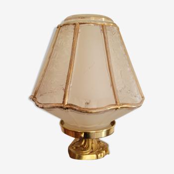 Lampe globe art déco