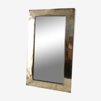 Miroir ethnique en laiton 21X36cm