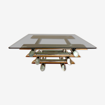 Table basse design et vintage