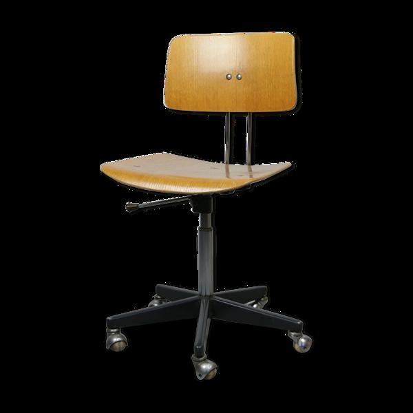 Selency Chaise de bureau pivotante réglable vintage