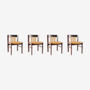 Set de 4 chaises par Martin Visser