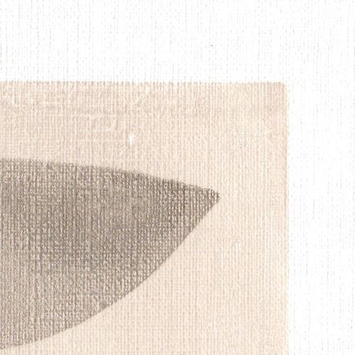 Peinture sur papier datée et signée eawy m279 sans cadre