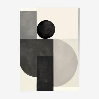 Equilibre noir et blanc