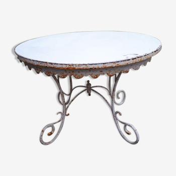 Ancienne table de présentation
