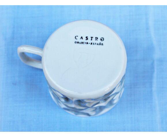 Service à café espagnol vintage Castro Sargadelos