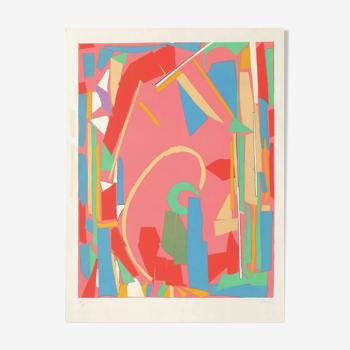 """Composition Abstraite"" André Lanskoy  1965"