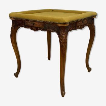 Table a jeux Louis XV en fruitier