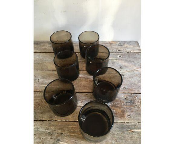 Série de 7 verres