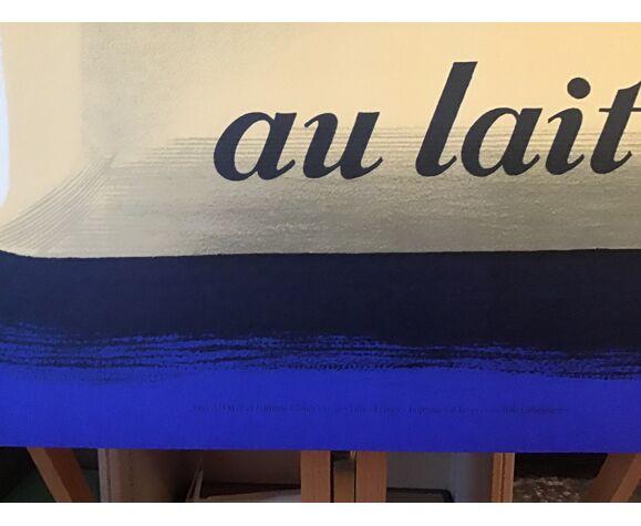 Affiche raymond savignac monsavon au lait, lithographie