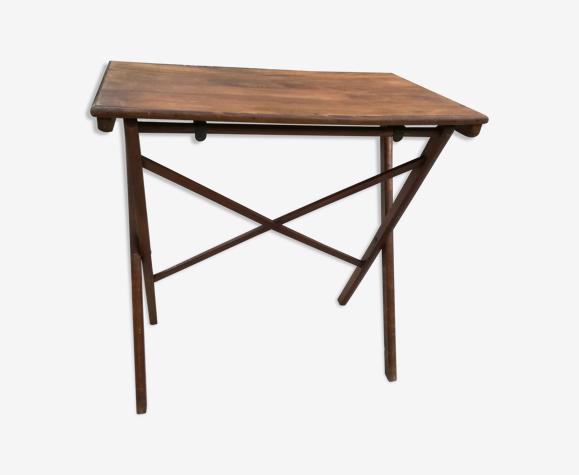 Table ancienne pliante en bois