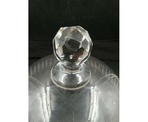 Cloche de table en cristal