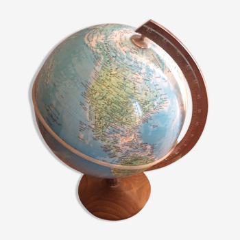 Globe terrestre électrifié
