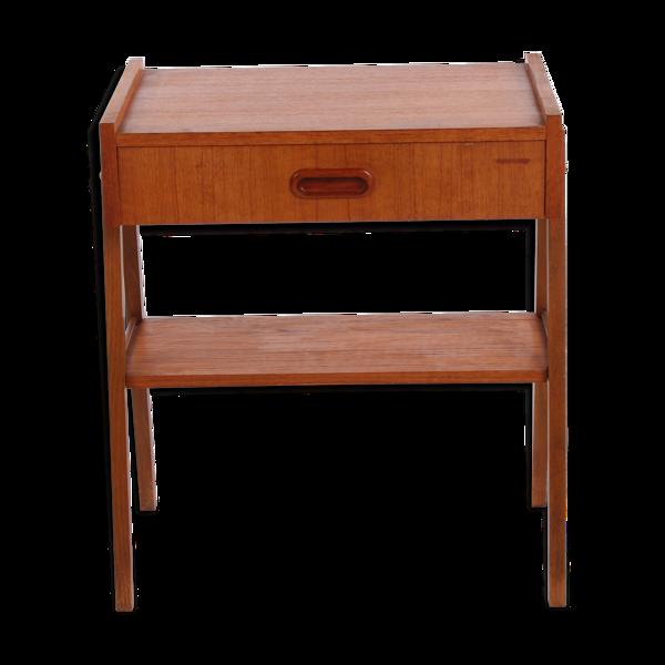 Selency Table de chevet danoise vintage années 1960