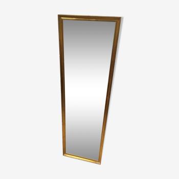 Miroir doré 38x125cm